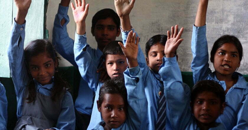 Working children denied proper to schooling in India