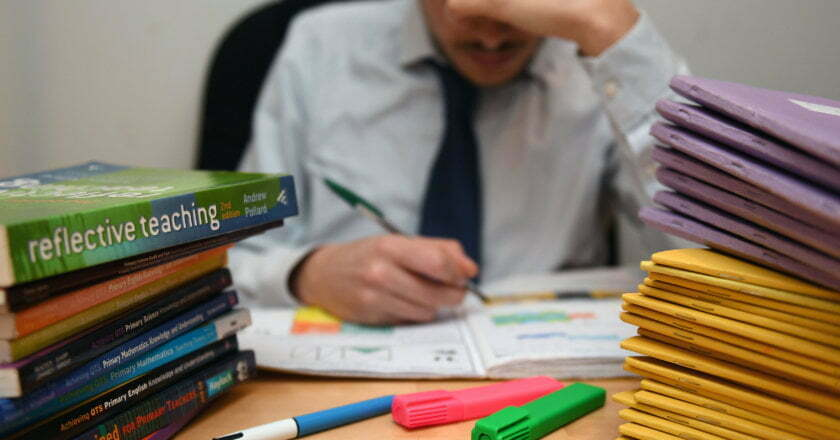 Four out of 10 instructors plan to quit, a survey indicates